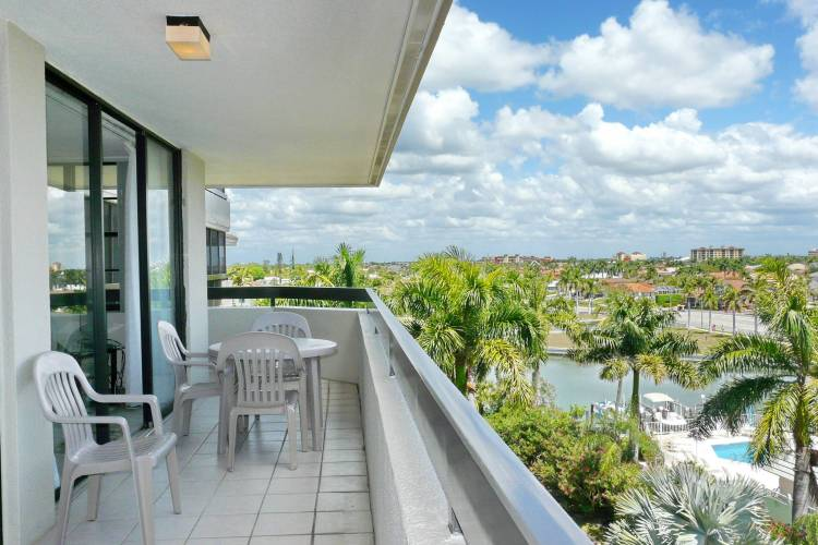 View South Seas East A-607 Vacation Rental Marco Island FL